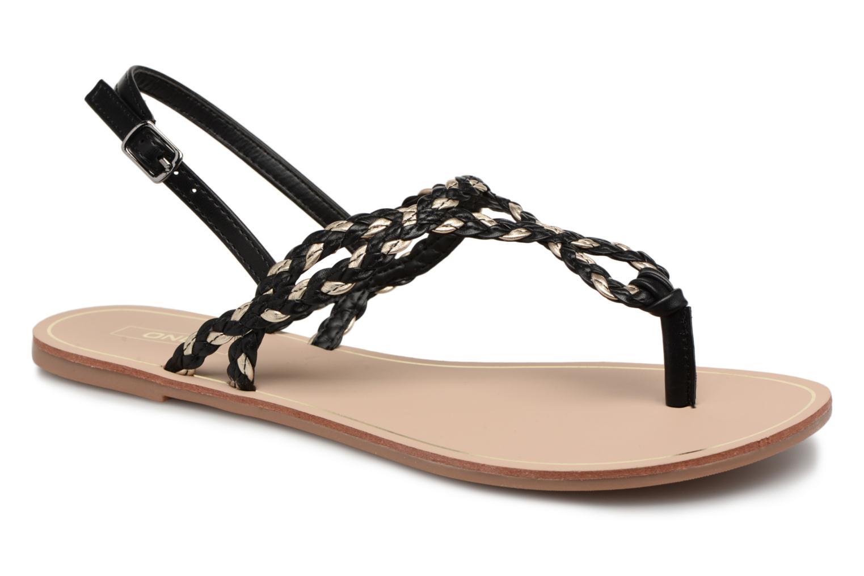 Sandales et nu-pieds ONLY MARGIT Noir vue détail/paire