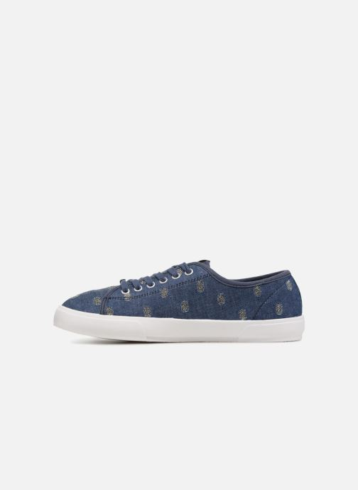 Trainers ONLY SAPHIR Blue front view