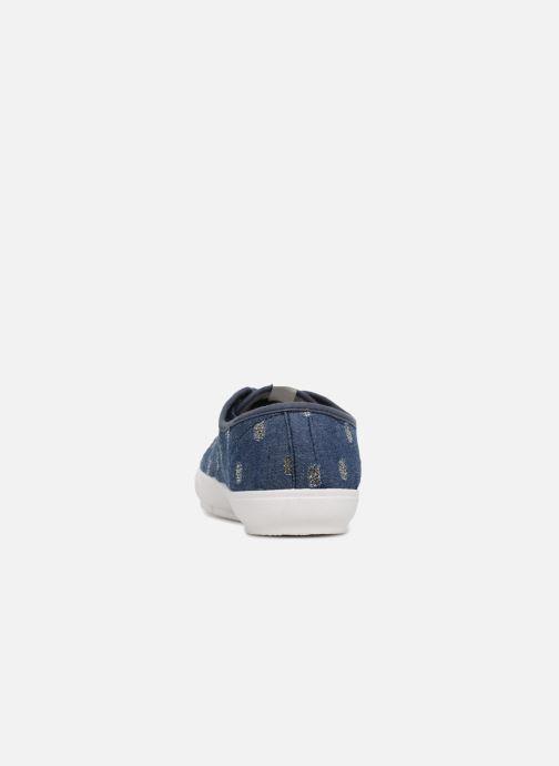 Baskets ONLY SAPHIR Bleu vue droite