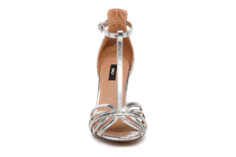 Escarpins ONLY ABBY Argent vue portées chaussures
