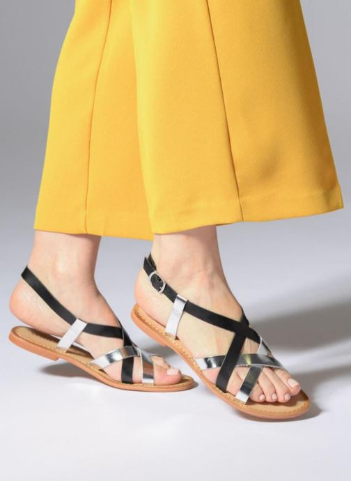Sandalen Vero Moda Mary leather sandal Zwart onder