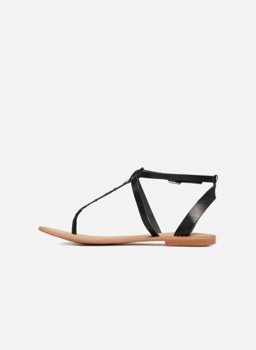 Sandales et nu-pieds Vero Moda Isabel leather sandal Noir vue face