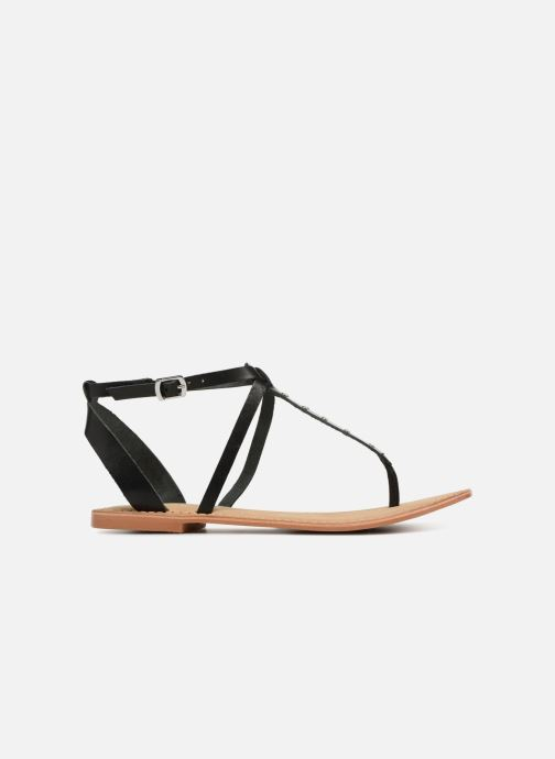 Sandales et nu-pieds Vero Moda Isabel leather sandal Noir vue derrière