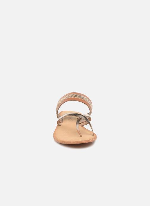 Sandales et nu-pieds Vero Moda Timo leather sandal Marron vue portées chaussures