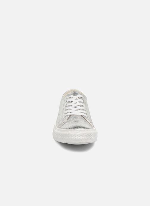 Sneakers Vero Moda Fab Sneaker Argento modello indossato