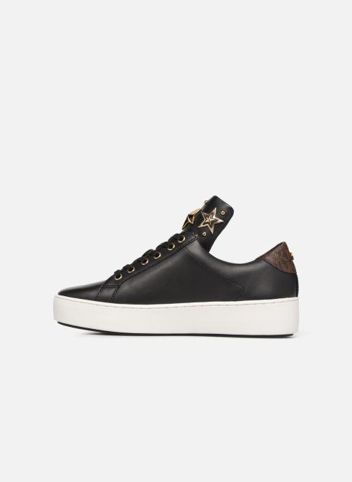 Sneakers Michael Michael Kors Mindy Lace Up Zwart voorkant