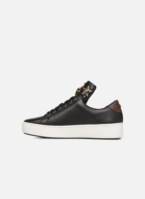 Sneakers Michael Michael Kors Mindy Lace Up Zwart voorkant