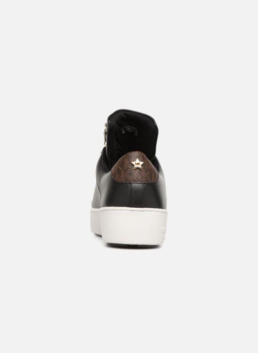 Sneakers Michael Michael Kors Mindy Lace Up Zwart rechts