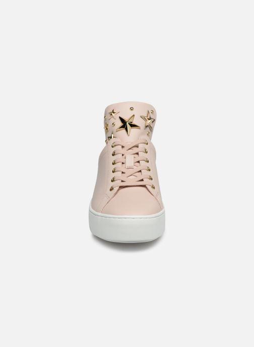 Baskets Michael Michael Kors Mindy Lace Up Rose vue portées chaussures