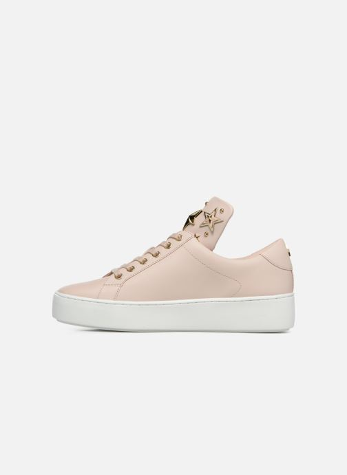 Sneakers Michael Michael Kors Mindy Lace Up Roze voorkant