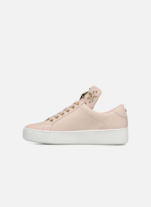 Sneaker Michael Michael Kors Mindy Lace Up rosa ansicht von vorne