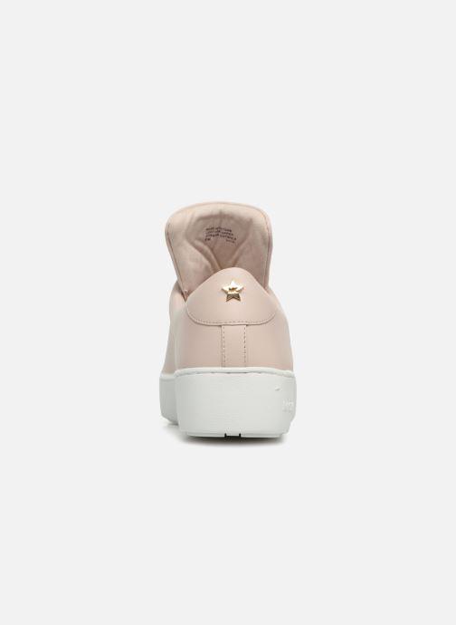 Sneaker Michael Michael Kors Mindy Lace Up rosa ansicht von rechts