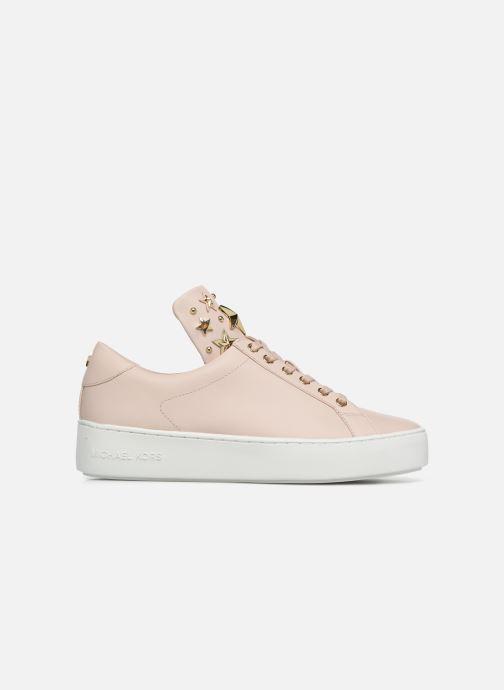 Sneaker Michael Michael Kors Mindy Lace Up rosa ansicht von hinten
