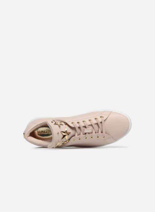 Sneaker Michael Michael Kors Mindy Lace Up rosa ansicht von links