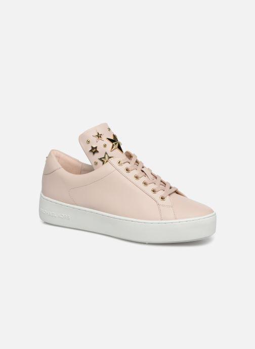 Sneakers Michael Michael Kors Mindy Lace Up Roze detail