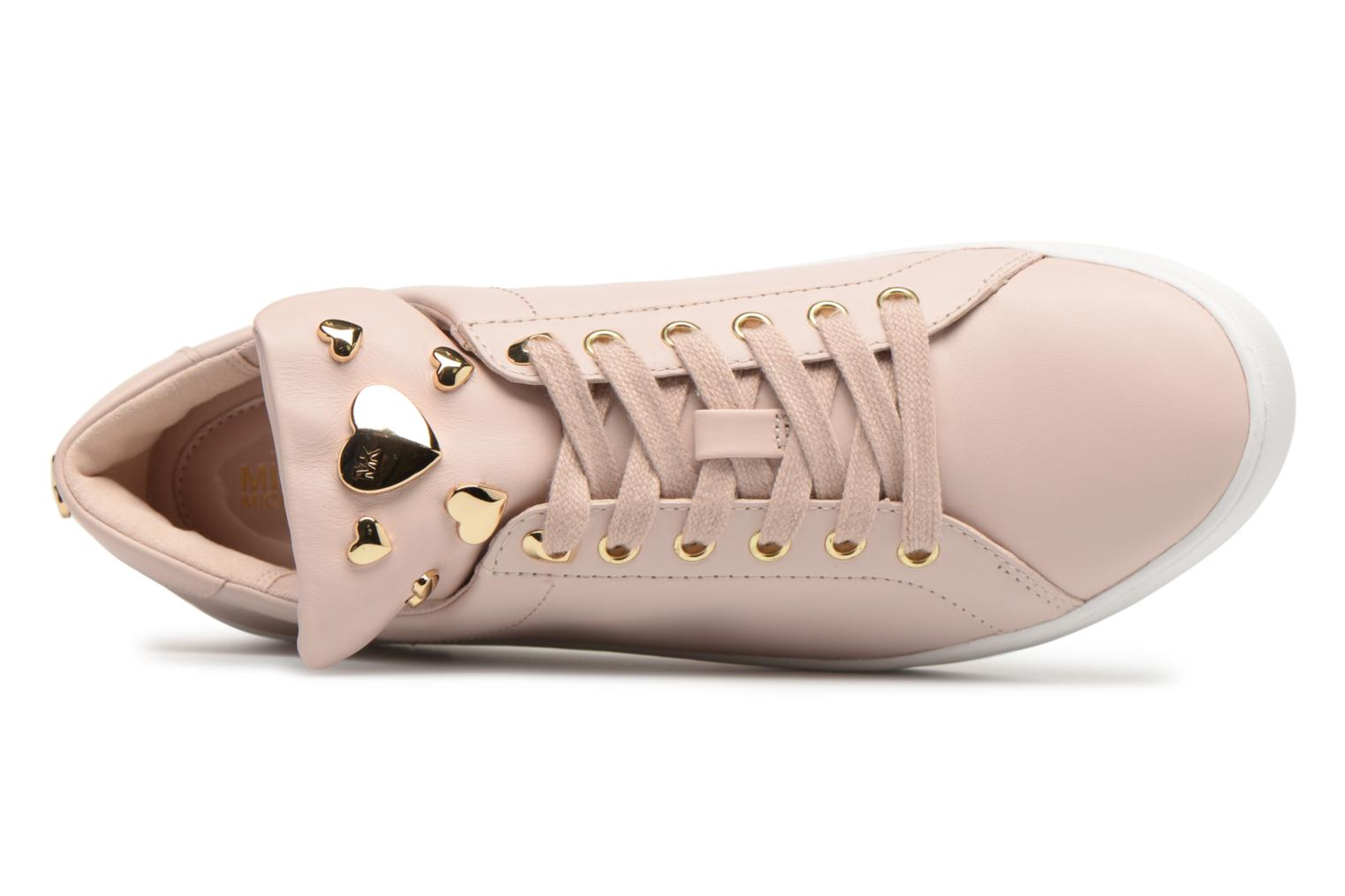 Trainers Michael Michael Kors Mindy Lace Up Pink view from the left