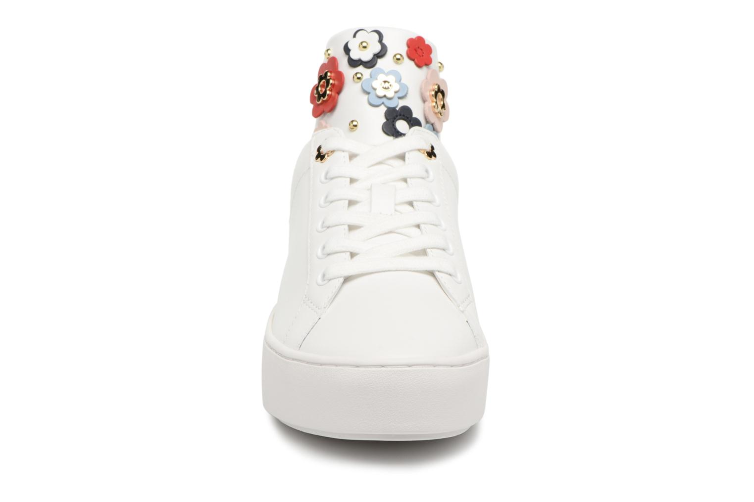Trainers Michael Michael Kors Mindy Lace Up White model view