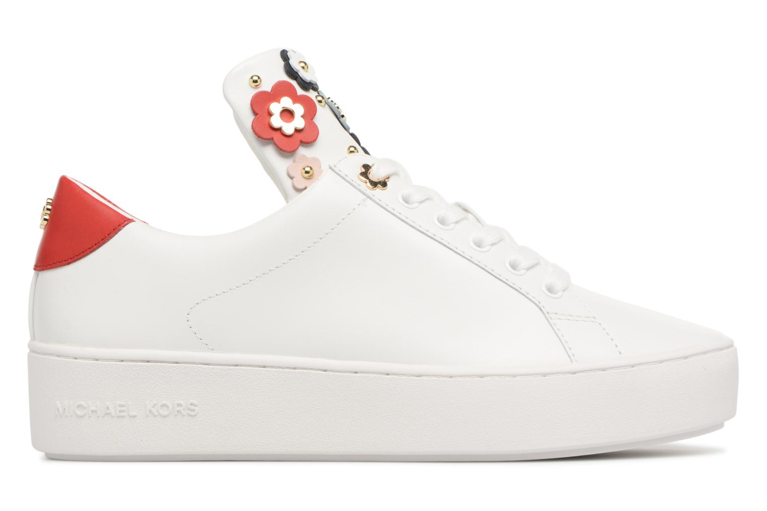 Trainers Michael Michael Kors Mindy Lace Up White back view