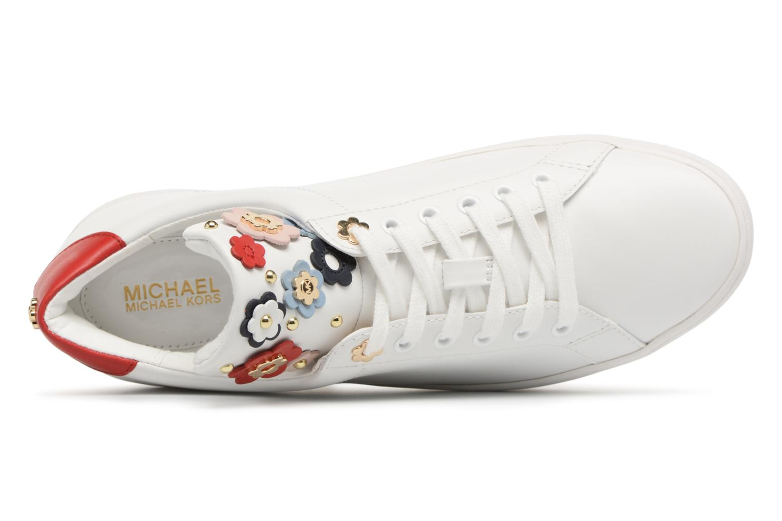 Trainers Michael Michael Kors Mindy Lace Up White view from the left
