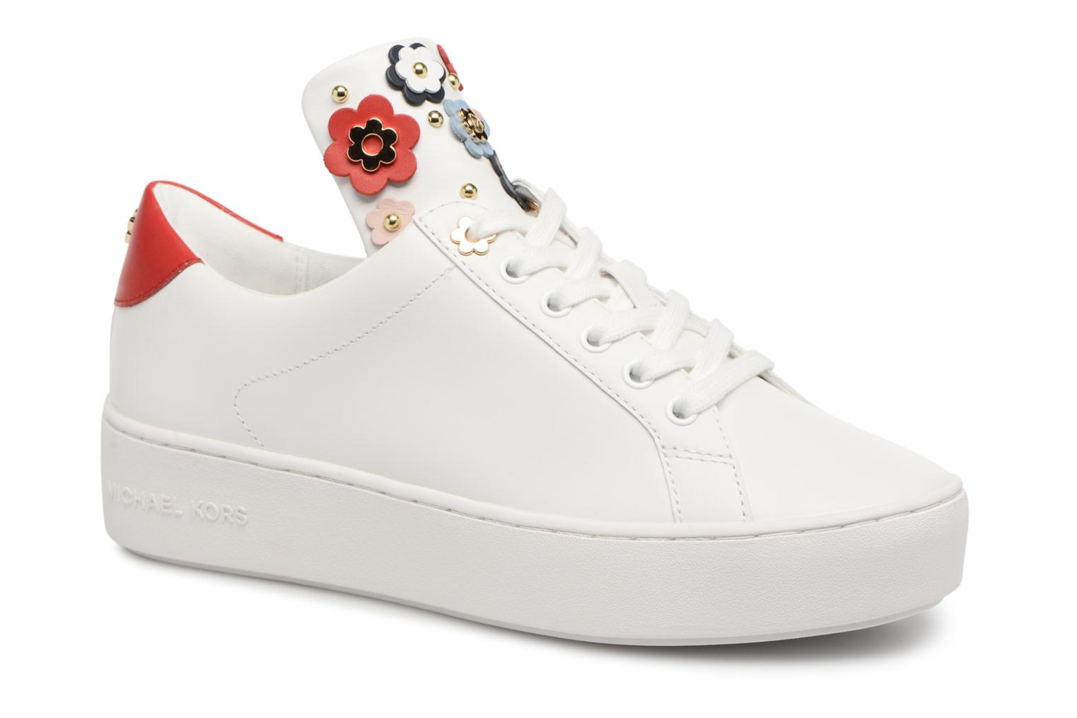 Trainers Michael Michael Kors Mindy Lace Up White detailed view/ Pair view