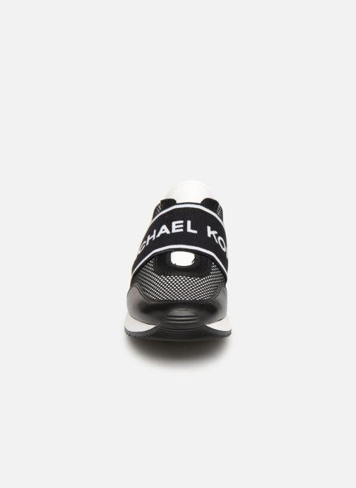 Baskets Michael Michael Kors MK Trainer Noir vue portées chaussures