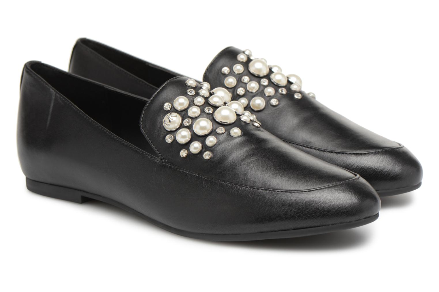 Loafers Michael Michael Kors Gia Loafer Black 3/4 view