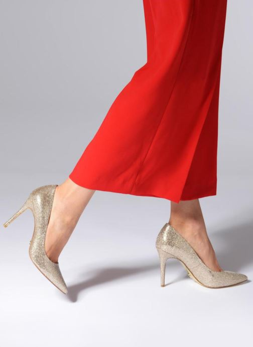 a815037a6458 High heels Michael Michael Kors Claire Pump Bronze and Gold view from  underneath   model view