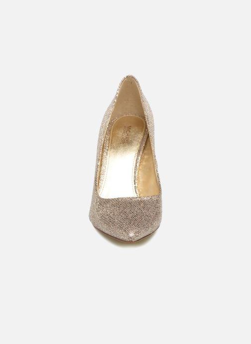 Escarpins Michael Michael Kors Claire Pump Or et bronze vue portées chaussures