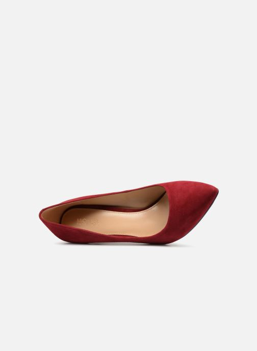 Pumps Michael Michael Kors Claire Pump rot ansicht von links