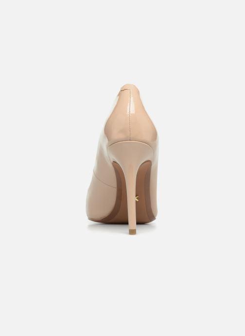 Zapatos de tacón Michael Michael Kors Claire Pump Beige vista lateral derecha