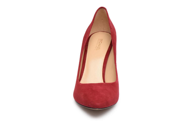 Escarpins Michael Michael Kors Claire Pump Rouge vue portées chaussures
