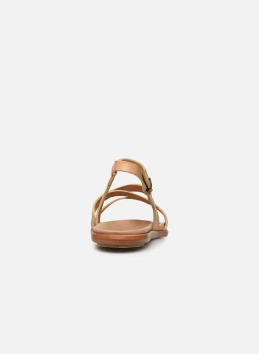Sandales et nu-pieds Neosens AURORA S948 Beige vue droite