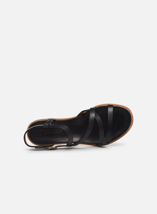 Sandalen Neosens AURORA S948 schwarz ansicht von links