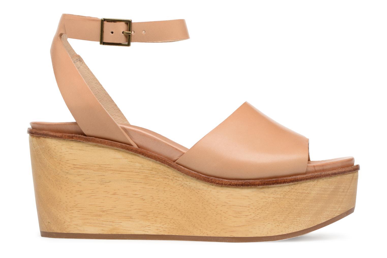 Sandales et nu-pieds Neosens BREVAL S507 Beige vue derrière