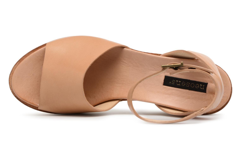 Sandales et nu-pieds Neosens BREVAL S507 Beige vue gauche