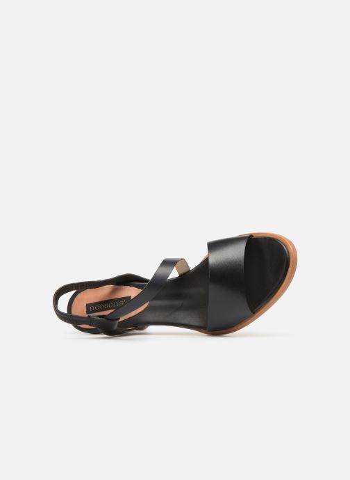 Sandalen Neosens MONTUA S995 Zwart links