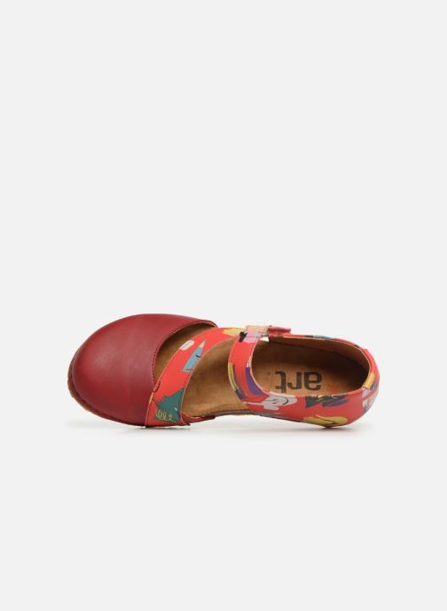 Ballet pumps Art Creta 1250F Red view from the left
