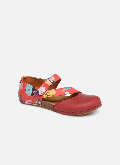 Ballerinaer Art Creta 1250F Rød detaljeret billede af skoene