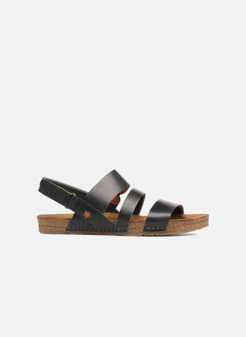 Sandalen Art Creta 1252 Zwart achterkant