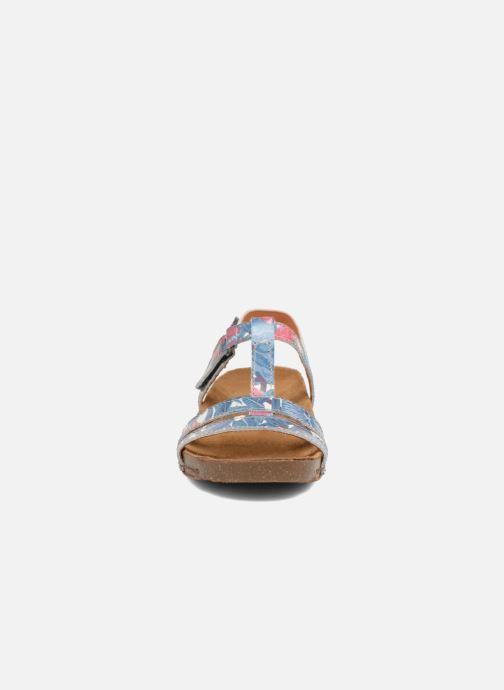 Sandales et nu-pieds Art I Breathe 946F Bleu vue portées chaussures