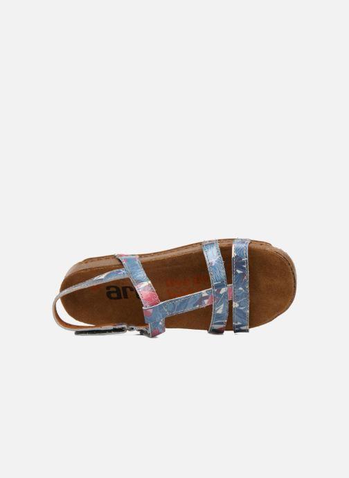 Sandales et nu-pieds Art I Breathe 946F Bleu vue gauche