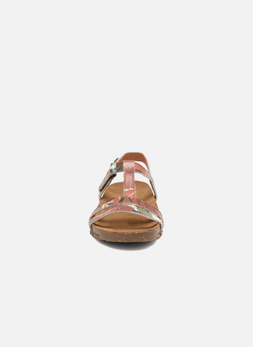Sandales et nu-pieds Art I Breathe 946F Vert vue portées chaussures