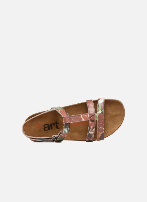 Sandales et nu-pieds Art I Breathe 946F Vert vue gauche
