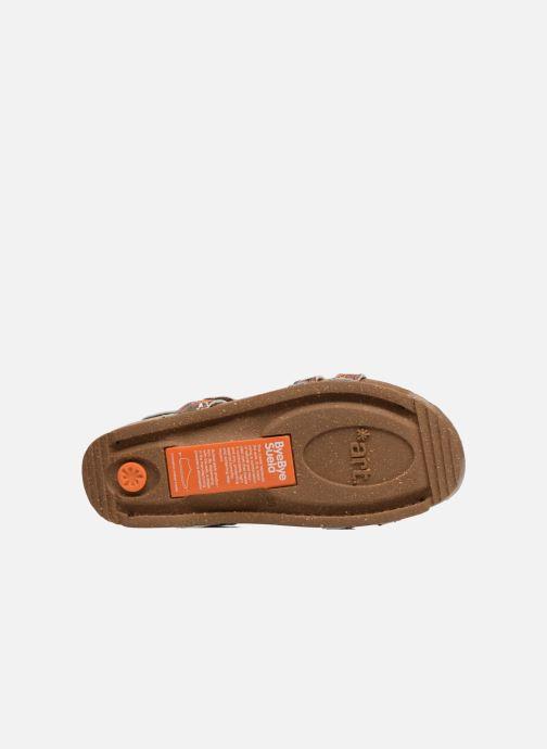 Sandales et nu-pieds Art I Breathe 946F Vert vue haut