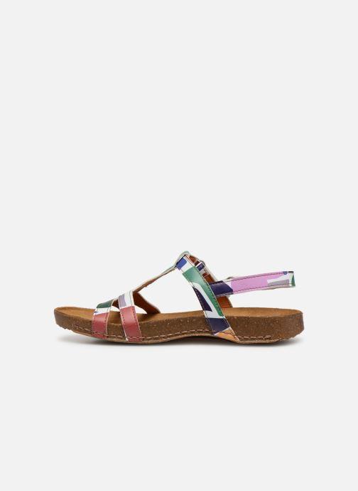 Sandales et nu-pieds Art I Breathe 946F Multicolore vue face