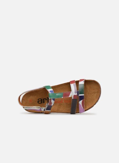 Sandales et nu-pieds Art I Breathe 946F Multicolore vue gauche