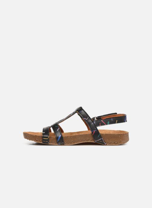 Sandali e scarpe aperte Art I Breathe 946F Nero immagine frontale