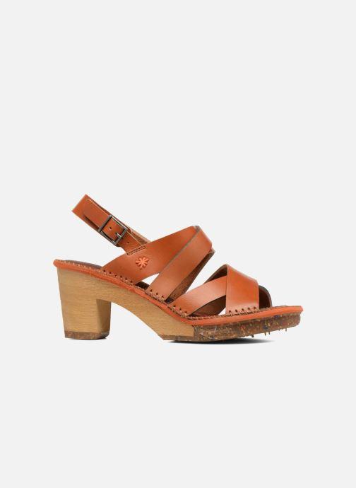 Sandales et nu-pieds Art Amsterdam 1055 Marron vue derrière