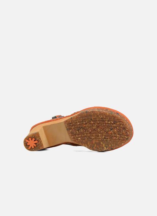 Sandales et nu-pieds Art Amsterdam 1055 Marron vue haut