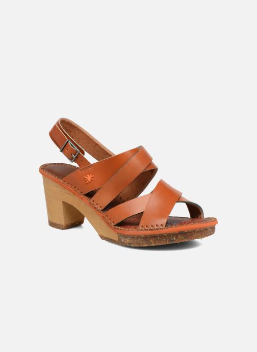 Sandales et nu-pieds Art Amsterdam 1055 Marron vue détail/paire